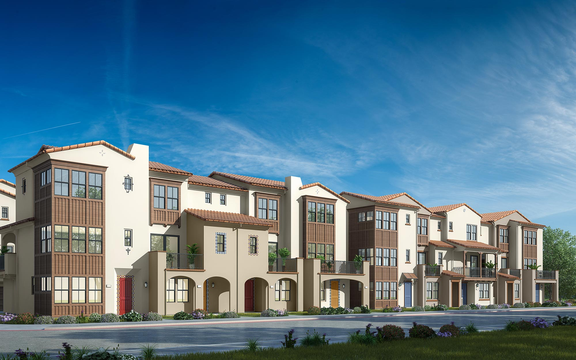 Andalusia Street View Rendering