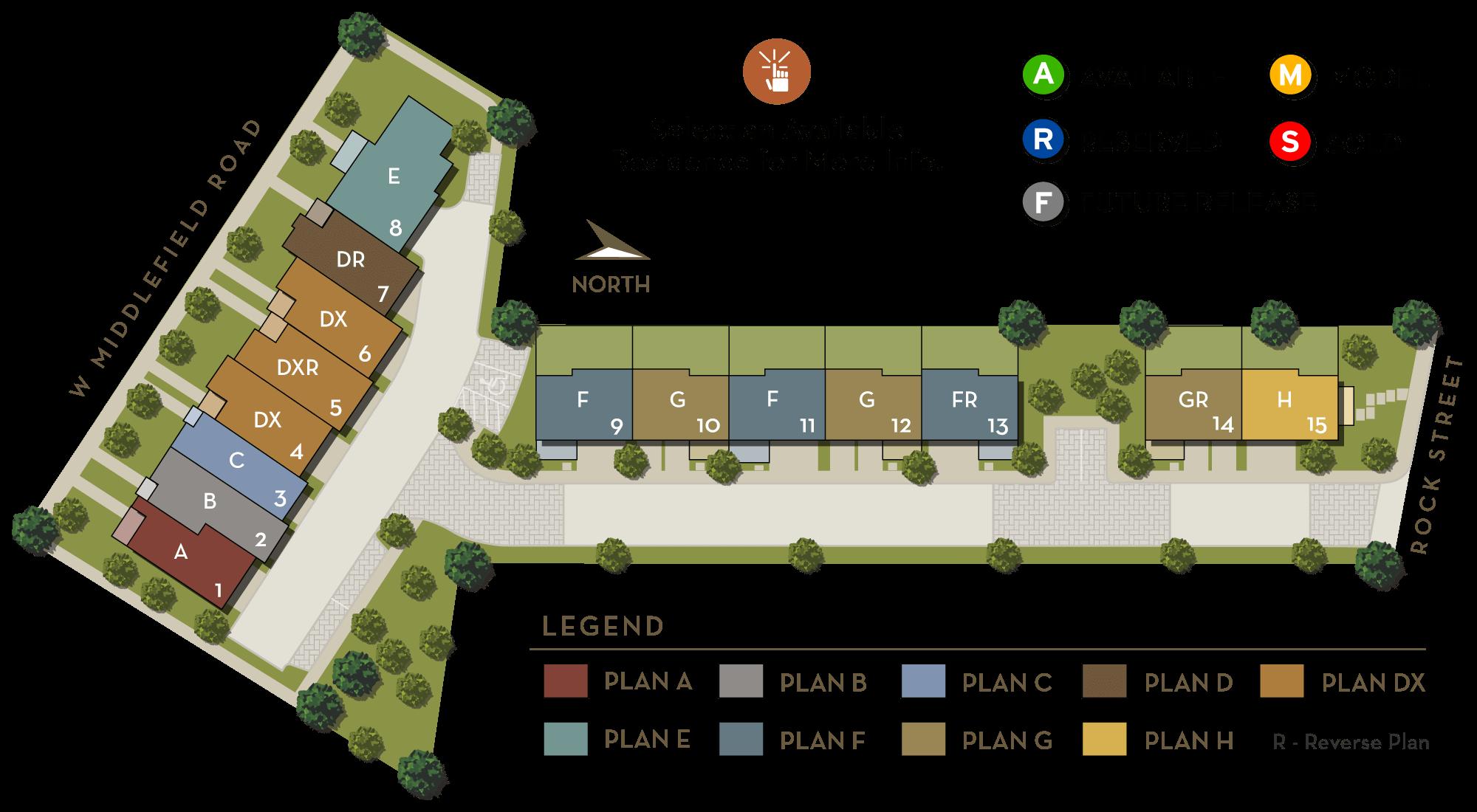 Cantera Site Plan