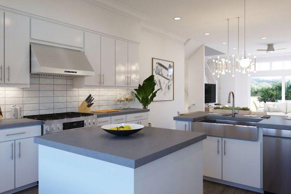 Plan B: Kitchen/Dining/Living