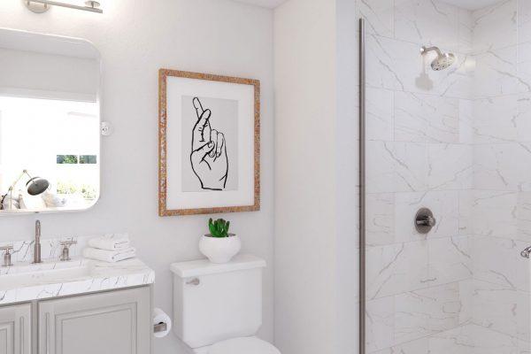 Plan DX: Bath 3