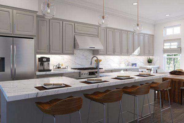 Plan DX: Kitchen/Dining