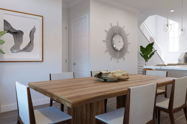 Plan DX: Dining/Kitchen