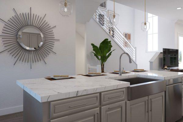 Plan DX: Kitchen/Great Room