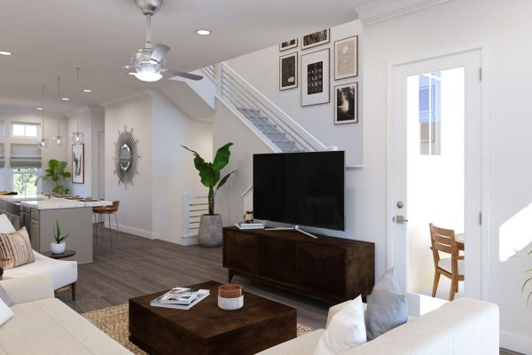 Plan DX: Great Room/Kitchen/Dining