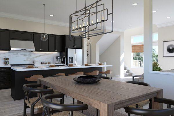 Plan E: Dining/Kitchen