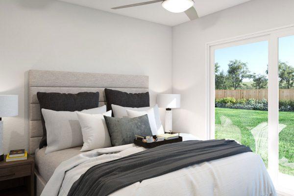 Plan F: Bedroom 3