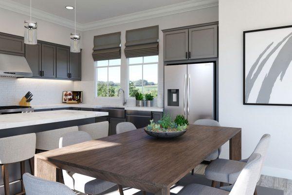 Plan F: Dining/Kitchen