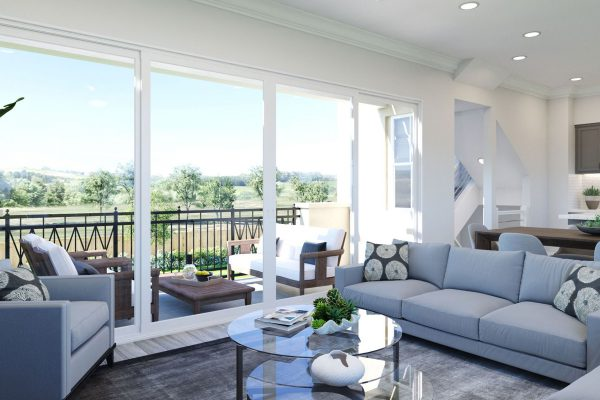 Plan F: Great Room/Deck