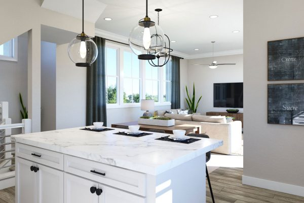 Plan G: Kitchen/Dining/Great Room