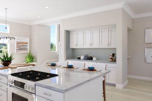 Plan 3 & 3X: Kitchen/Dining