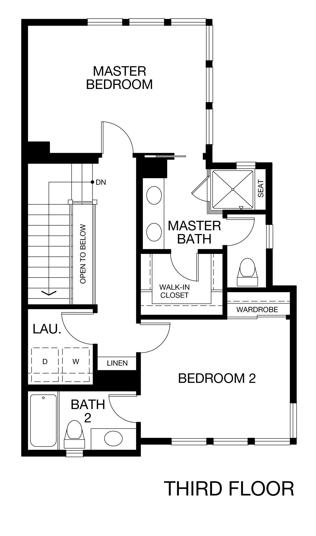 Prism Plan 2C - Third Floor