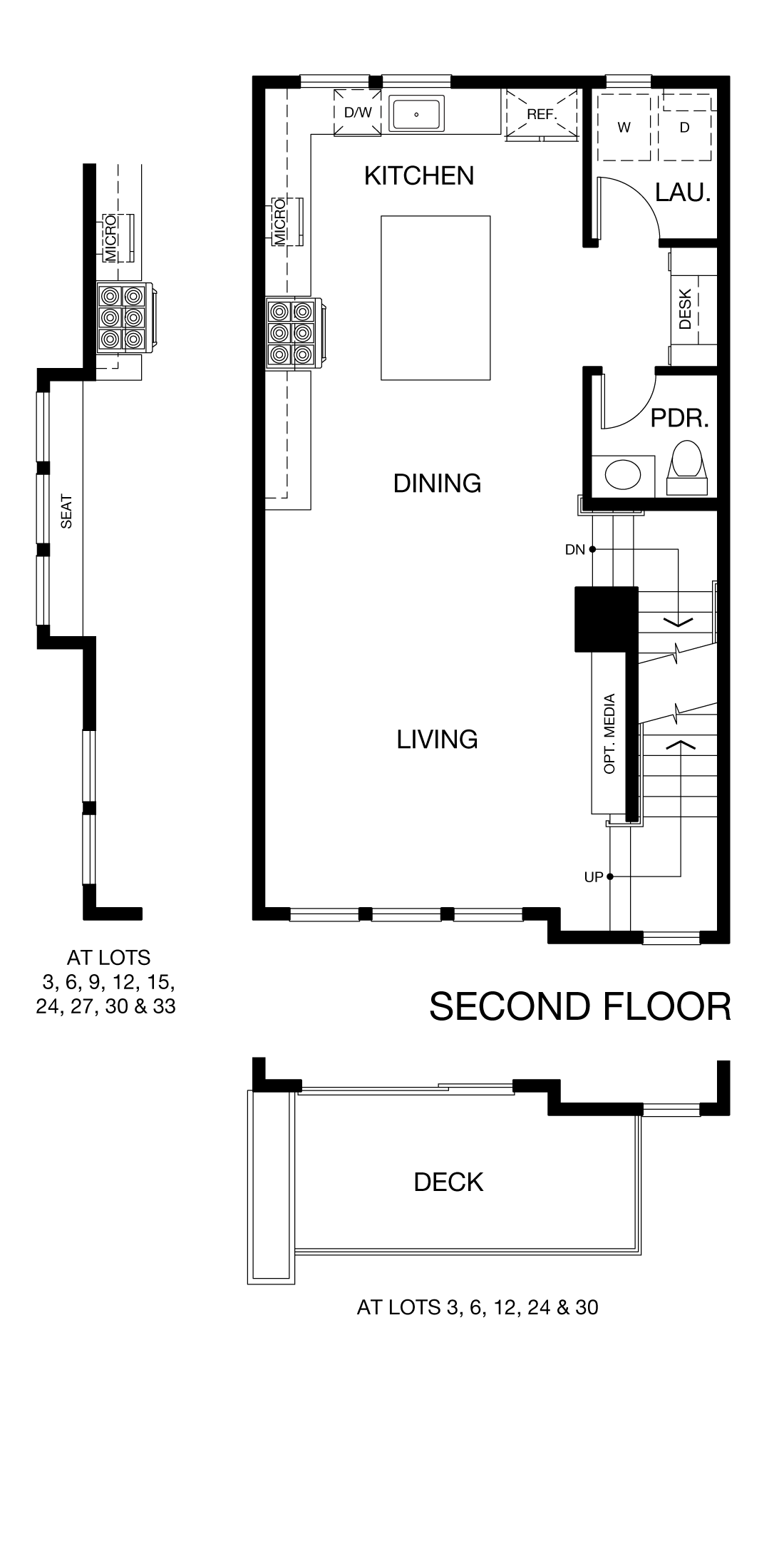 Prism Plan 3 - Second Floor