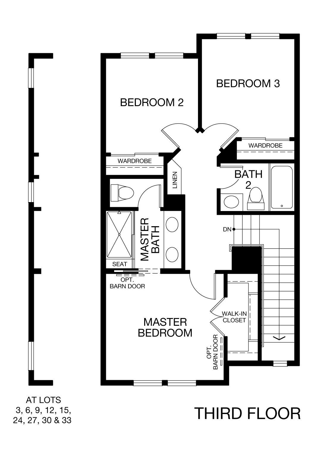 Prism Plan 3 - Third Floor