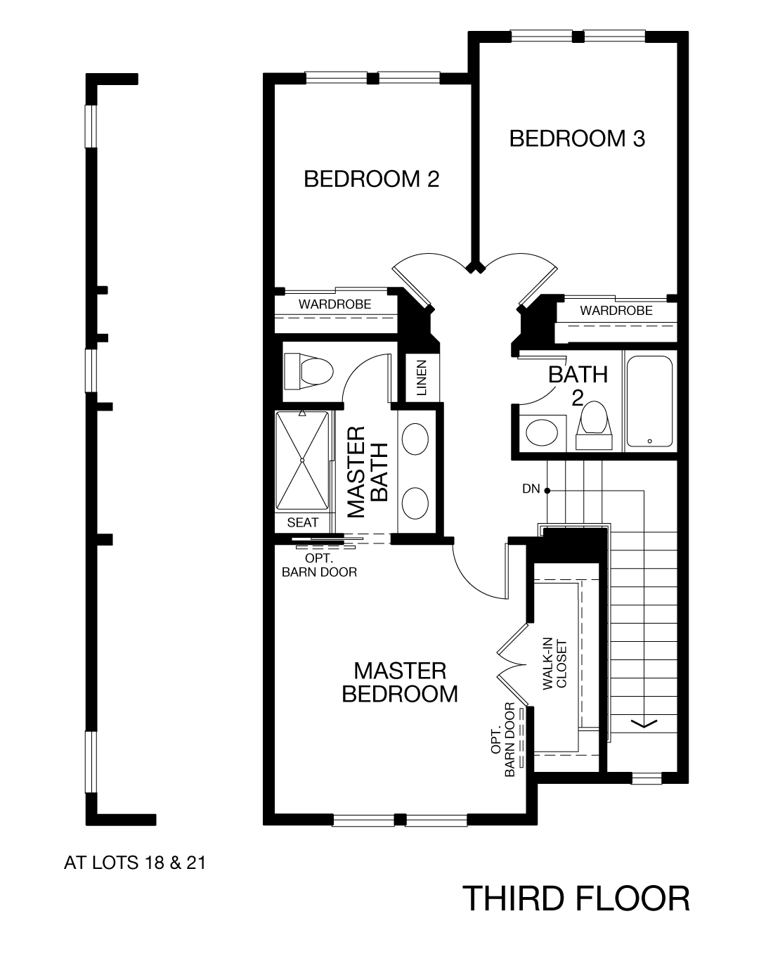 Prism Plan 3X - Third Floor
