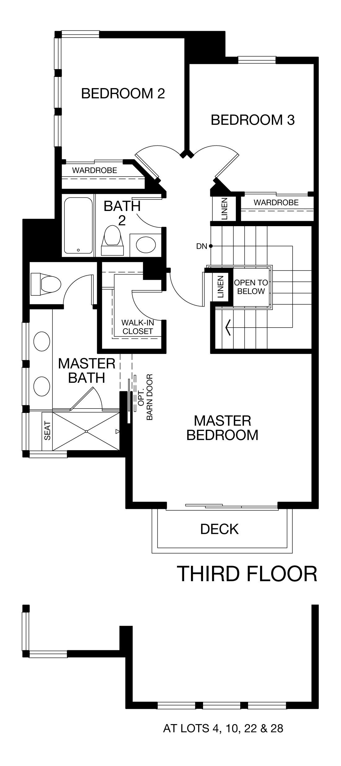 Prism Plan 4 - Third Floor