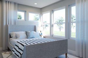 Plan 2C: Bedroom