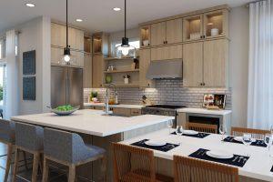Plan 2C: Dining/Kitchen