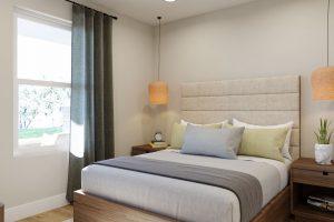Plan 1X: Bedroom