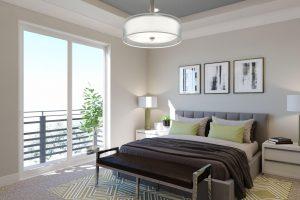 Plan 1X: Master Bedroom