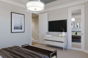 Plan 1X: Master Bedroom
