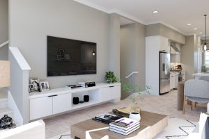 Plan A: Living/Dining/Kitchen