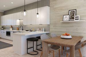 Plan A: Dining/Kitchen